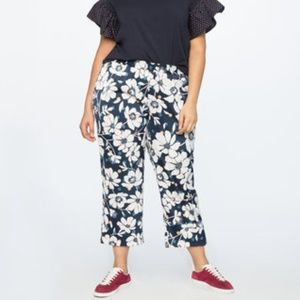 Eloquii Printed Crop Trouser